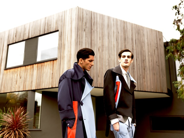 Fashion - Deux Hommes Magazine. Photographer: Nick Lapite