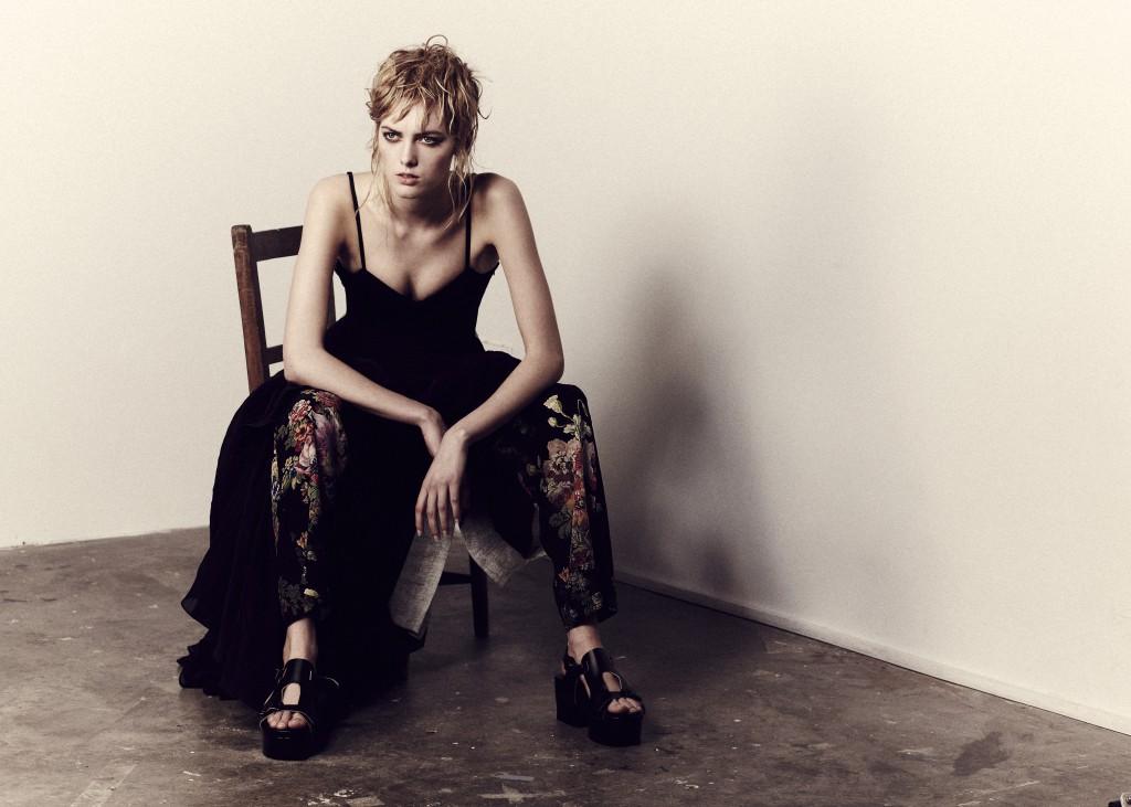 Fashion story. Photography Barnaby Newton. Makeup Veronica Peters. Hair Ben. Stylist Josh